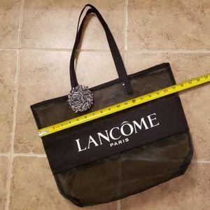 Lancome Bags - Lancome Paris Black Mesh Tote